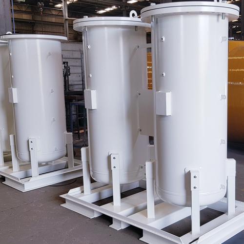 colunas geradoras de oxigénio, azoto ou nitrogénio