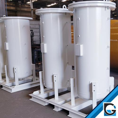 colonnes génératrices d'oxygène ou d'azote