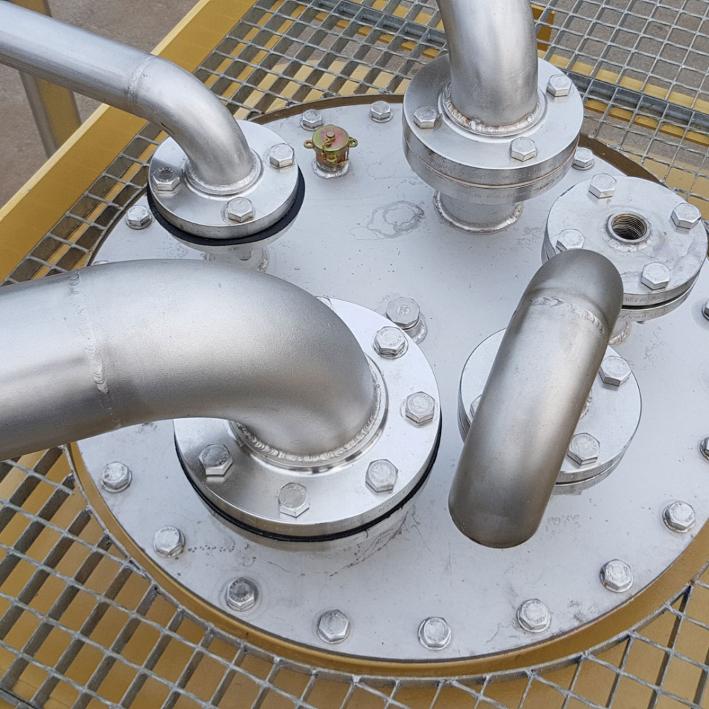 depósitos subterráneos para combustibles Jet