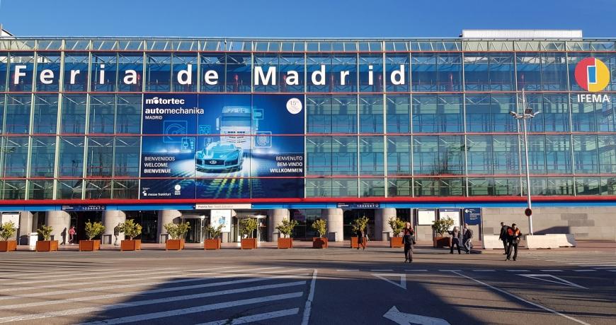 Estivemos presentes em mais uma edição da MOTORTEC – Automechanika Madrid, na IFEMA 1