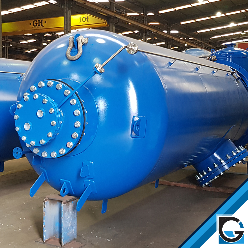 hydropneumatic tanks with membrane